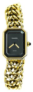 Chanel * Rare Chanel Vintage Premier Gold Plated Ladies Watch