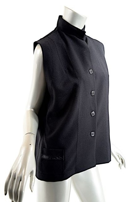 Item - Black London Polyester Vest - Wonderful - O/S Pant Suit Size OS (one size)