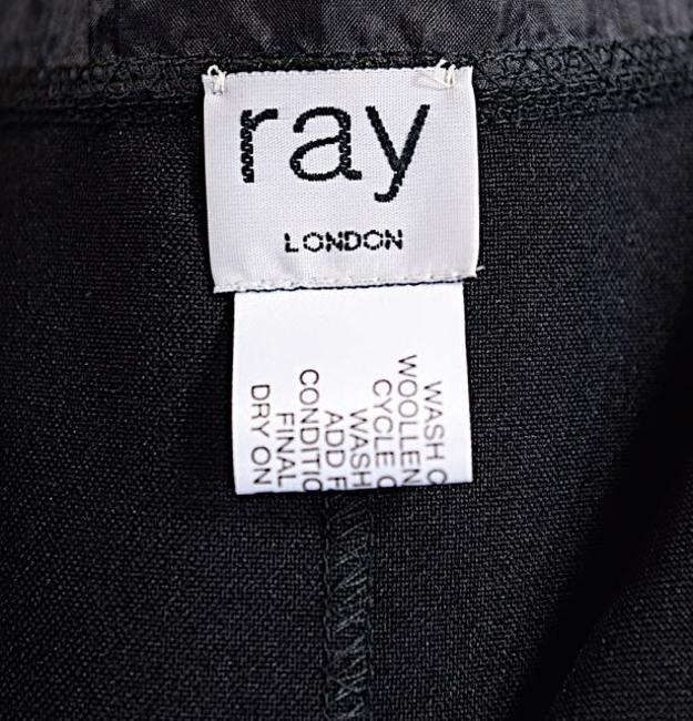 Ray Harris RAY HARRIS London Black Polyester Vest - WONDERFUL - O/S Image 1