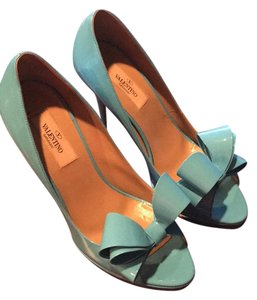 Valentino Blue Platforms