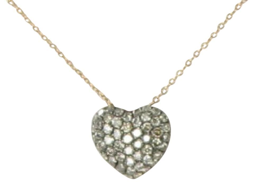 Le vian chocolate diamond rose gold heart pendant 048cts 14k le vian chocolate diamond heart pendant necklace 048cts 14k rose gold aloadofball Gallery