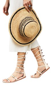 Free People Jeffrey Campbell Gladiator Leather Natural Sandals