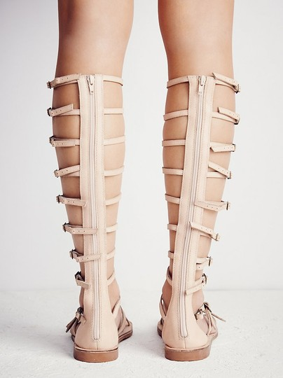 Free People Jeffrey Campbell Gladiator Leather Natural Sandals Image 1