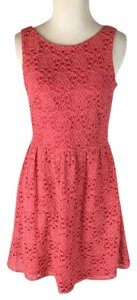 The Limited short dress Coral on Tradesy