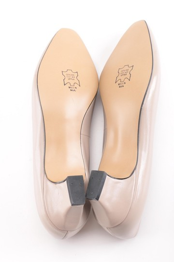Auditions Leather Basic Classic Tan / Nude Kitten Heel Pumps Image 4