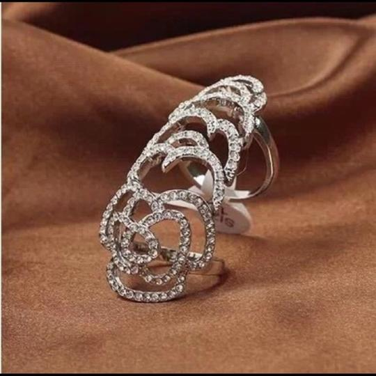 Queen Esther Etc Gorgeous Rhinestone Bezel Adjustable Ring Image 1