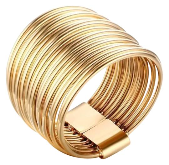 Preload https://img-static.tradesy.com/item/21646094/never-fade-high-polish-gold-plated-stainless-steel-ladies-fashion-delicate-layered-circle-ring-0-1-540-540.jpg