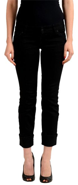 Preload https://img-static.tradesy.com/item/21646121/dsquared2-black-sexy-rolled-up-flare-women-s-capricropped-jeans-size-25-2-xs-0-1-650-650.jpg