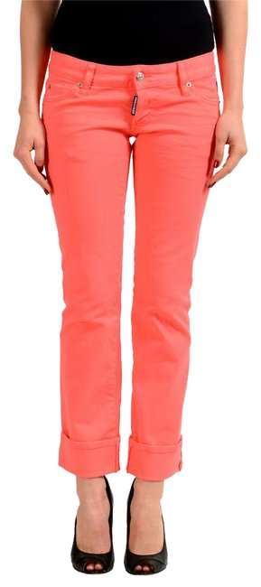 Preload https://img-static.tradesy.com/item/21646171/dsquared2-pink-sexy-rolled-up-denim-women-s-skinny-jeans-size-25-2-xs-0-1-650-650.jpg