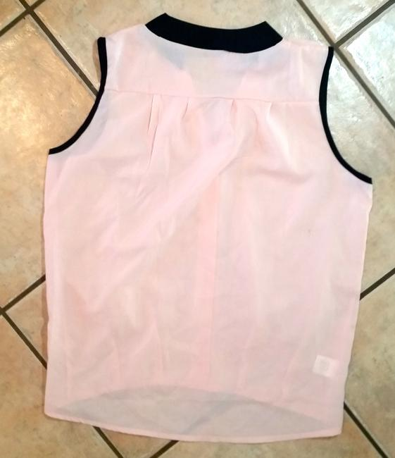 New Size Small Sleeveless Top pink, black Image 1