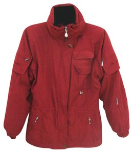 NILS Ski Snow Snowboard Red Jacket