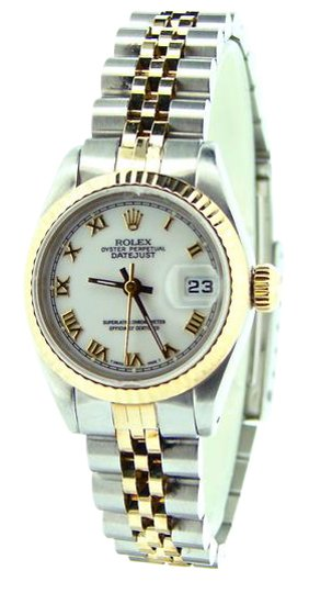 Preload https://img-static.tradesy.com/item/21647123/rolex-white-ladies-two-tone-18kss-datejust-roman-69173-watch-0-1-540-540.jpg