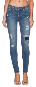 Paige Skinny Jeans-Distressed