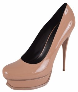 Saint Laurent Ysl Yves Work Nude Pumps