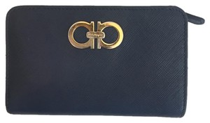 Salvatore Ferragamo Double Gancio French Wallet