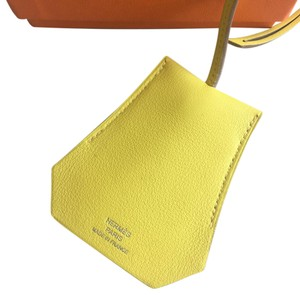 Hermès Hermes Clochette Narcisse Mirror Bag Charm, Lime