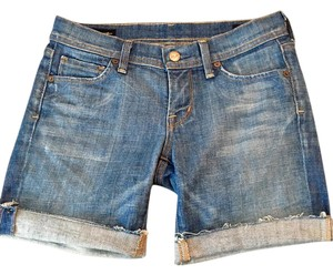 Citizens of Humanity Paige Hudson Cutoff Bermuda Denim Shorts-Distressed