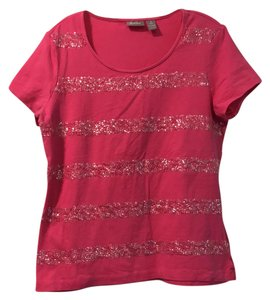 Chico's T Shirt hot pink