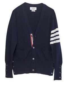 Thom Browne Men's Cashmere Cardigan Sweater