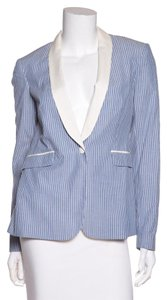 Rag & Bone Blue & White Blazer