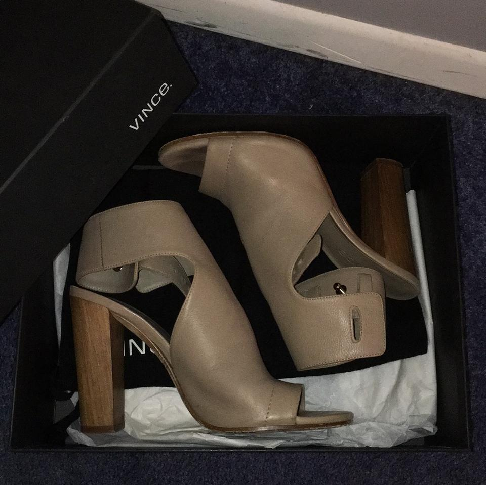 Taupe Vince Addie Booties Taupe Boots Vince rrd7Hwq