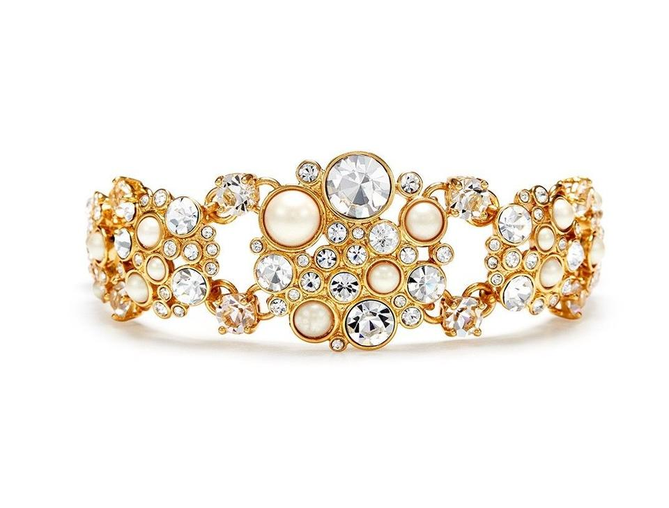 68a7fdd231dcb3 Kate Spade Gold Pick A Pearl Limited Edition Classic Bracelet Image 6.  1234567