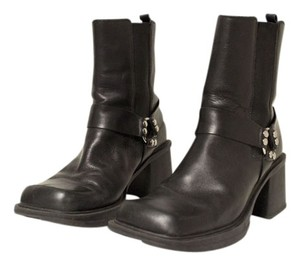 Women's Leather Black Boots