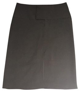 Alvin Valley Pencil Classic Preppy Skirt Black