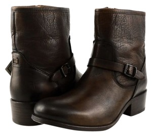 Frye Lynn Cog Cognac Leather Brown Boots