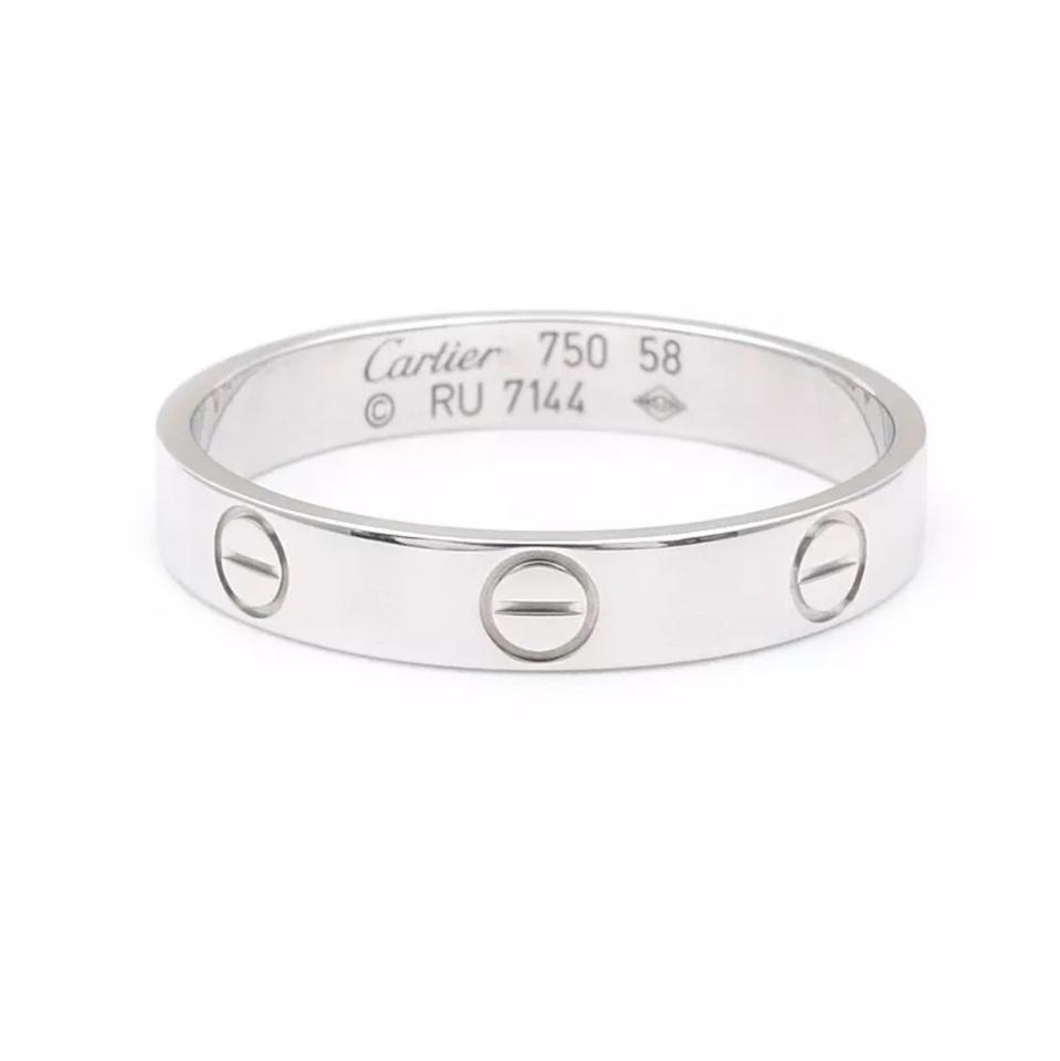 Cartier Love Ring Scratches