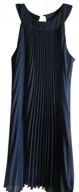Preload https://item5.tradesy.com/images/dress-barn-black-trapeze-pleated-knee-length-cocktail-dress-size-14-l-21654-0-0.jpg?width=400&height=650