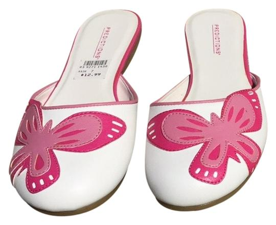 Predictions White/pink Flats