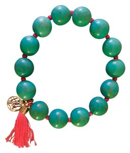 Lilly Pulitzer GWP BEADED BRACELET SEASIDE AQUA
