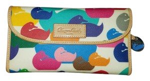 Dooney & Bourke Cream and Multi-colored Duck Dooney & Bourke Wallet