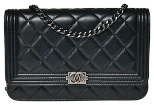 Chanel Woc Lambskin Woc Boy Woc Boy Woc Cross Body Bag