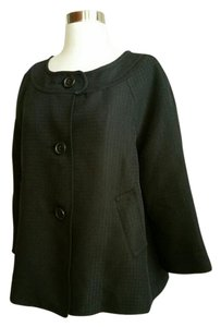 Max Studio 3 button closure. Polyester, rayon. Dry clean. New. Blazer