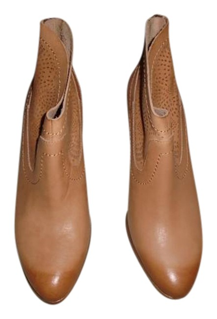 Item - Beige W Charlotte Leather Boots/Booties Size US 9 Regular (M, B)