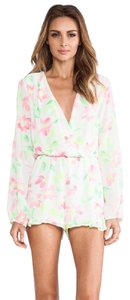 Eight Sixty Floral Ruffle Dress
