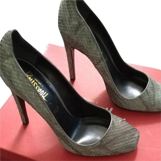 Jerome C. Rousseau Grey Sandals