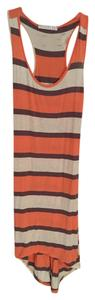 Potter's Pot short dress Coral, oatmeal and light plum on Tradesy
