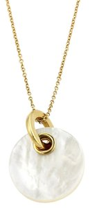 Tiffany & Co. Poetry in Motion Mother of Pearl 18k Gold Pendant