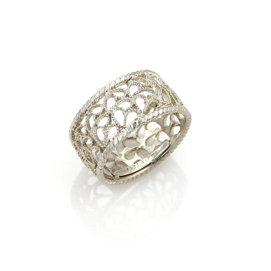 BUCCELLATI Filidoro Sterling Silver 9mm Mesh Band Ring