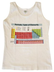 CafePress Periodic Table Elements Chemistry Top White