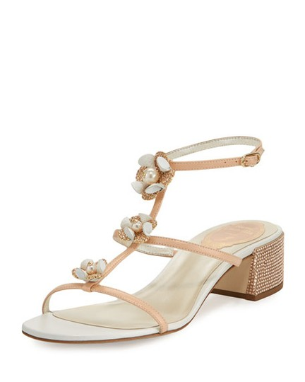 Preload https://img-static.tradesy.com/item/21657597/rene-caovilla-pink-floral-embellished-sandals-size-us-10-regular-m-b-0-2-540-540.jpg