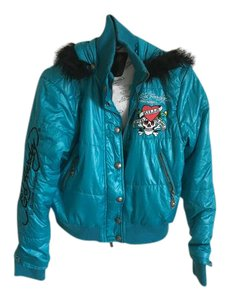 Ed Hardy Blue Jacket
