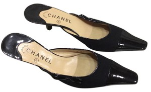 Chanel black Mules