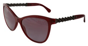 Chanel New Chanel Chain Butterfly 5326 Gradient Burgundy c.1528/s1 58*16 140