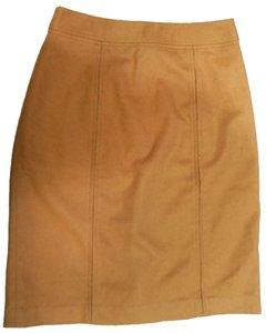 MILLY Pencil Skirt Camel