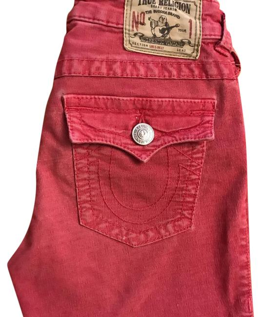 Item - Pink Light Wash Kids Clothing Boot Cut Jeans Size 33 (10, M)