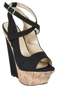 Liliana Black Wedges